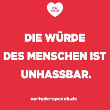 © No Hate Speech